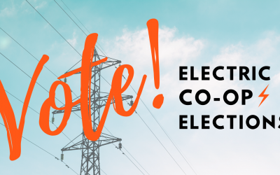 It's Electric Co-op election season and YOUR VOTE is needed!